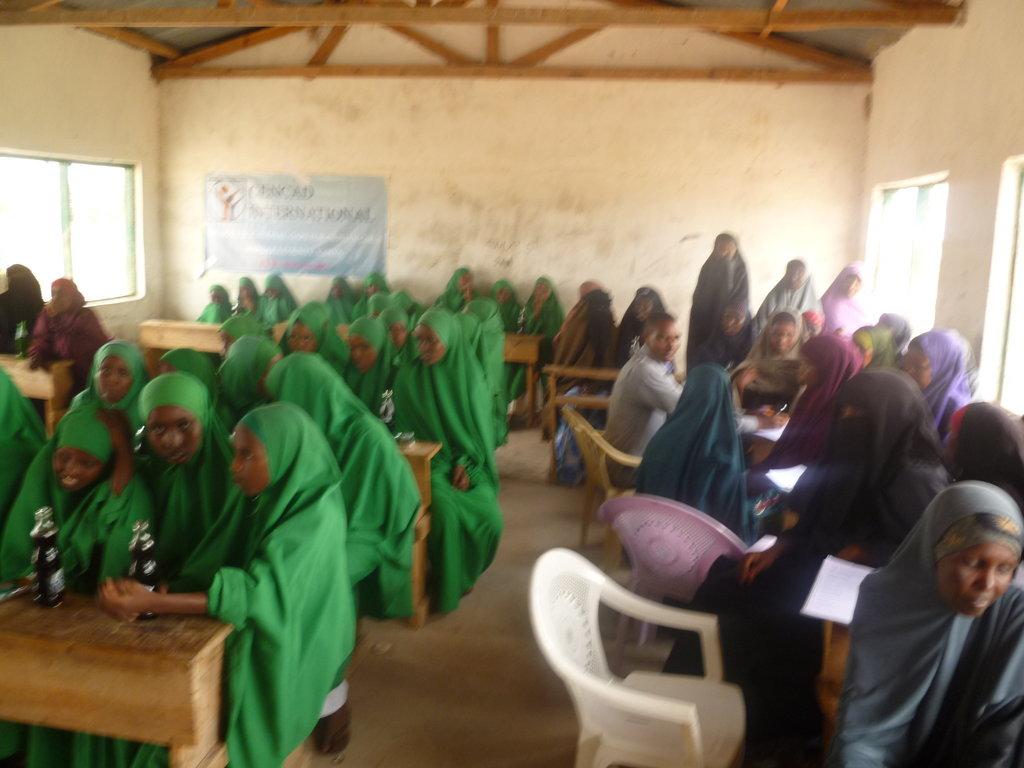 Bridge Educational Gaps for 300 Girls in Kenya.