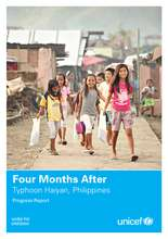 Four Months After Typhoon Haiyan (PDF)