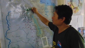 Making a plan for the trip to Karen State