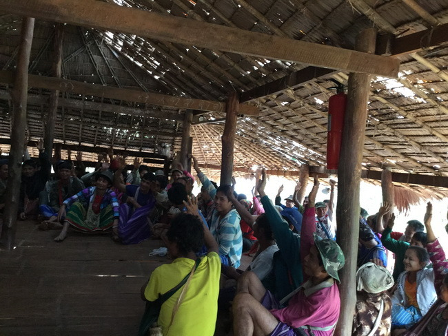 Villagers happy to learn how to prevent addiction