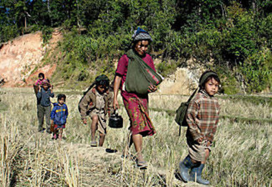 Hard Life in Burma
