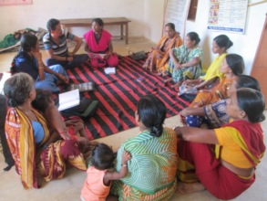 Meeting with Village Child Protection Committee