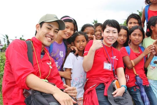 Civic Force team in Barangay Salvacion
