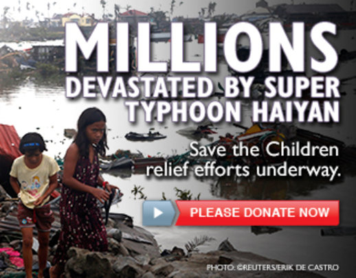 Typhoon Haiyan Children's Relief Fund
