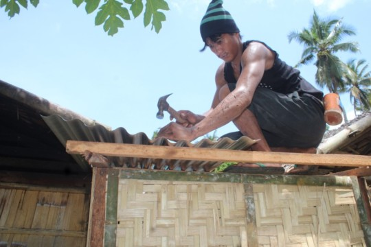 Low-cost toilet onstruction