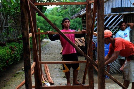 Affordable latrine model for Gandara