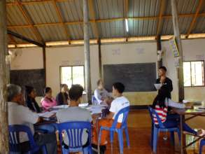 Our 5th teacher training workshop at the camp