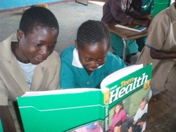 Educate and teach children in Zambia to read