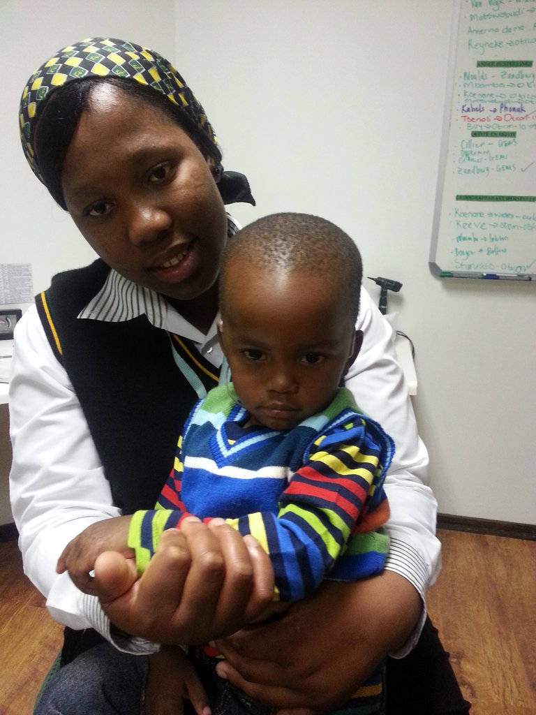 Equip one pediatric hearing clinic in South Africa