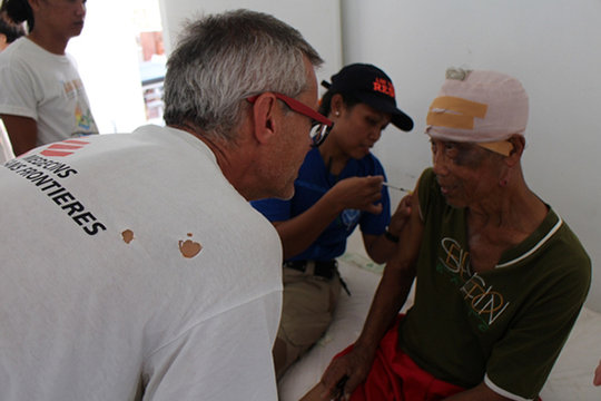 Responding to Medical Needs after Typhoon Haiyan