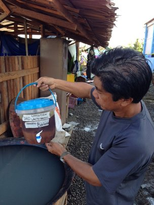 Sustainable farming in Tacloban