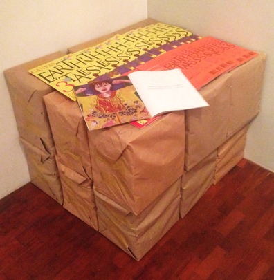 """Two thousand copies of """"Earth Tales"""" ready to go!"""