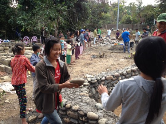 Community Building in Nawng Nang Kachin State