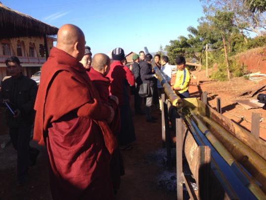Bamboo Treatment Tank Training in Pa-O community