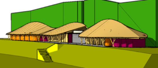 Shwenadi Sustainable Training Center in Monastery