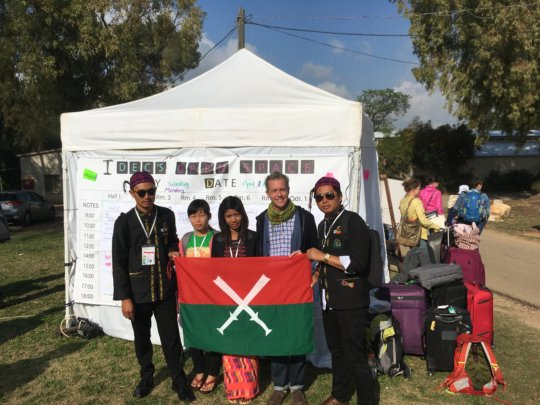 Some of the Kachin teachers sharing Kachin pride