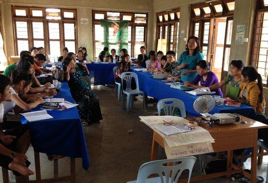 Kachin Teachers from Shan and Kachin States