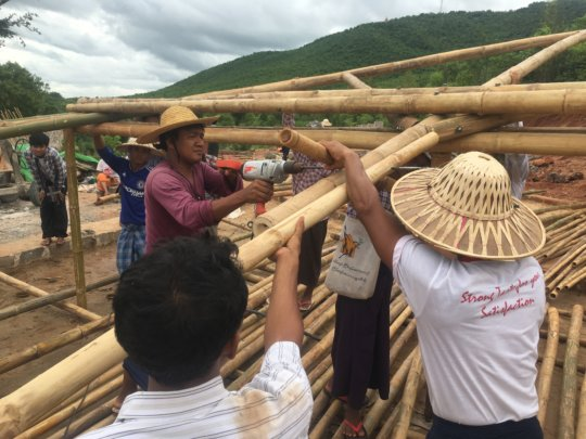 New bamboo buildings skills