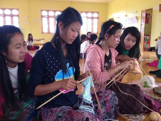 Life skills to young Pa-O girls