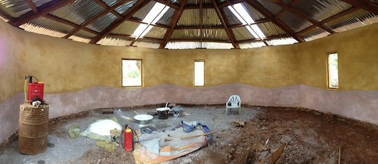 Natural paints for the new Kachin classrooms