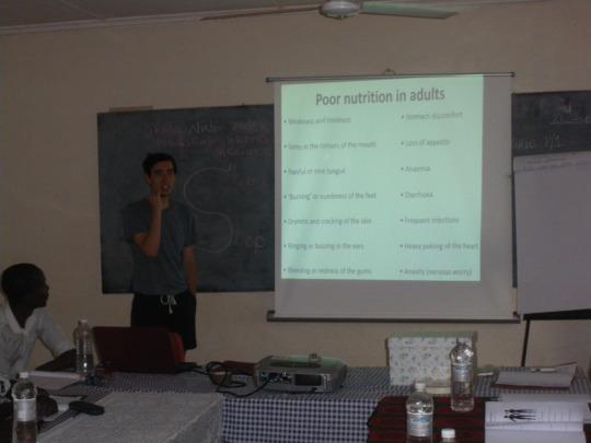 CHW Residential Training in Livingstone