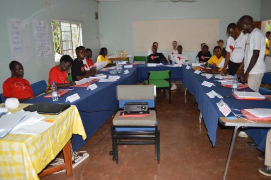 Residential training in Livingstone