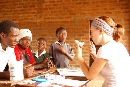Providing on the spot medical care in remote areas