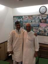 With Nobel Laureate Kailash Satyarthi