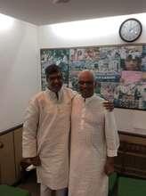 With Nobel Laureate Kailash Satyarthi