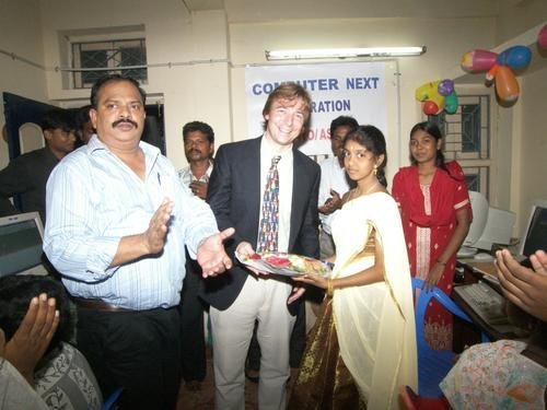 Provide computers for high-risk children in India