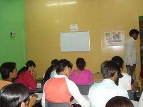 ASSET-Delhi Center-English class in session