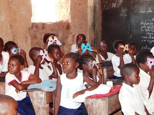 Kubunina, an apiary for a Congolese school
