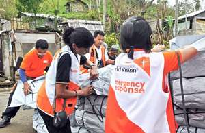 World Vision Shelter Kit, 1 of 13,605 distributed
