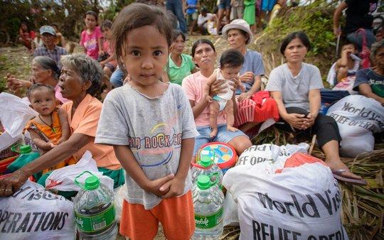 World Vision Philippines Typhoon Haiyan Response