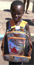 One backpack can make a big difference