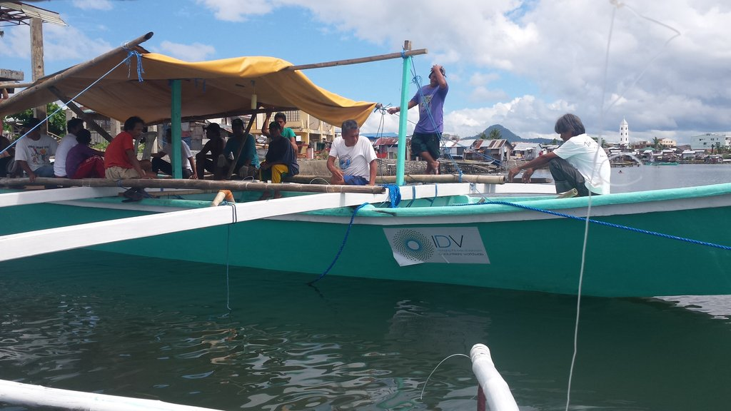 This boat will help families feed themselves