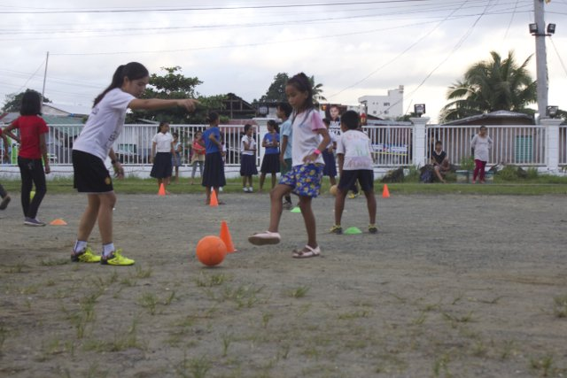 Games are enjoyed by girls and boys alike