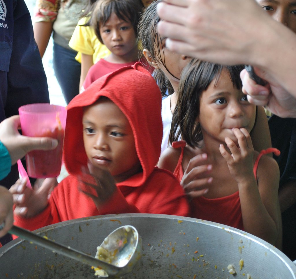 Hundreds of kids received a hot meal thanks to you