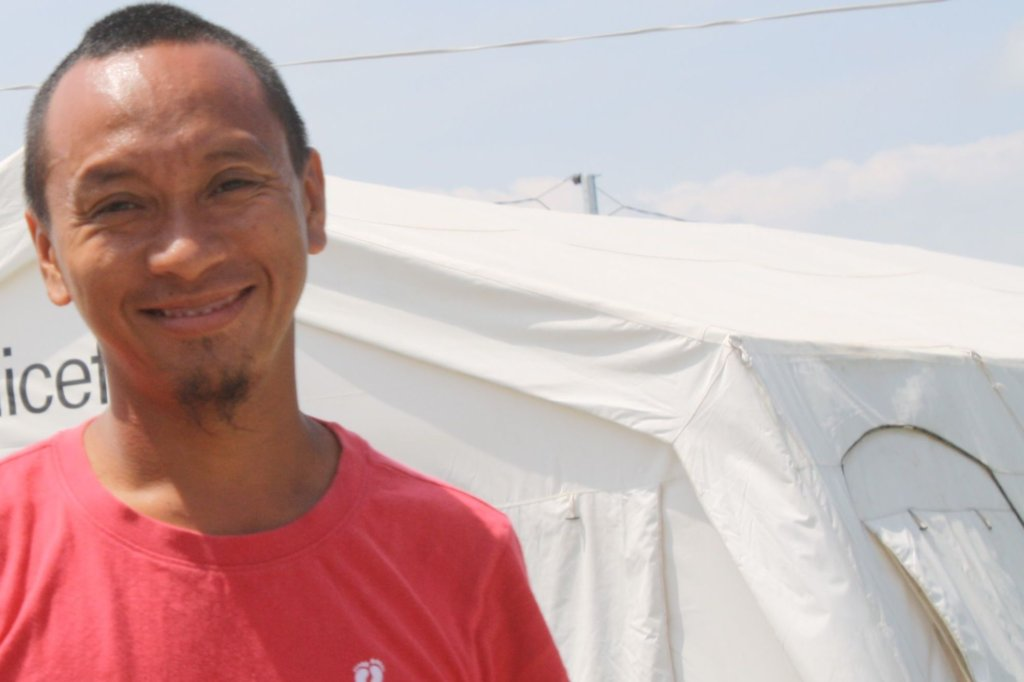 Siggy has been with us since the start in Tacloban