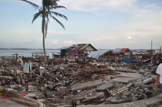 The devastation in Tacloban