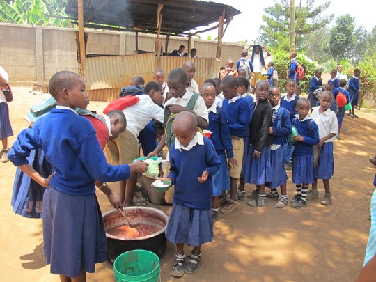 Longuo Primary School Lunch Program - Tanzania