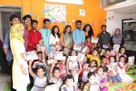 Partnership with Dhaka University Cultural Society