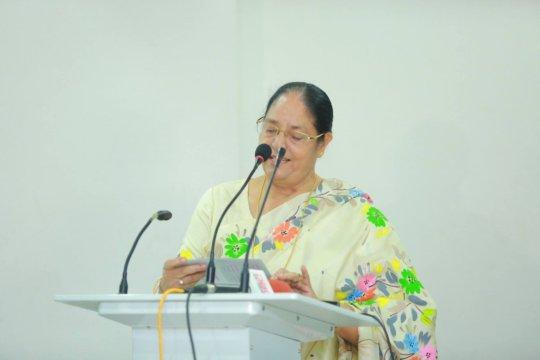 Guest of honor, Professor Mahfuza Khanam