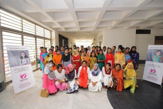 Spreeha Adolescent Girls' Club Future Leaders