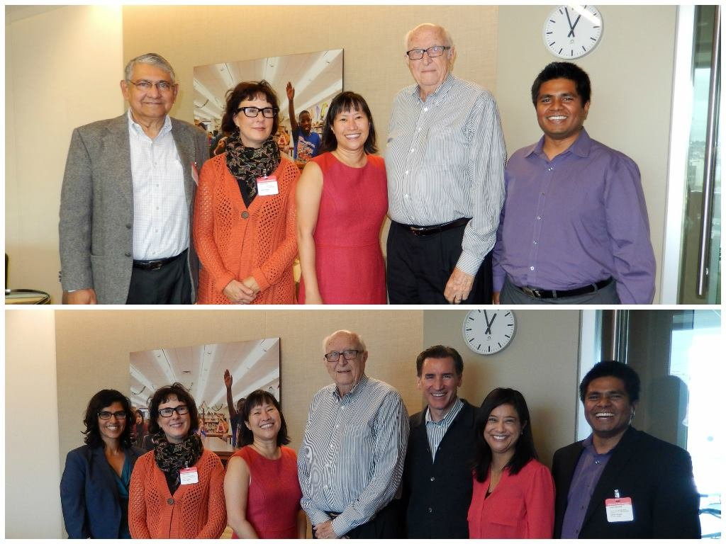 Meeting with Gates Foundation