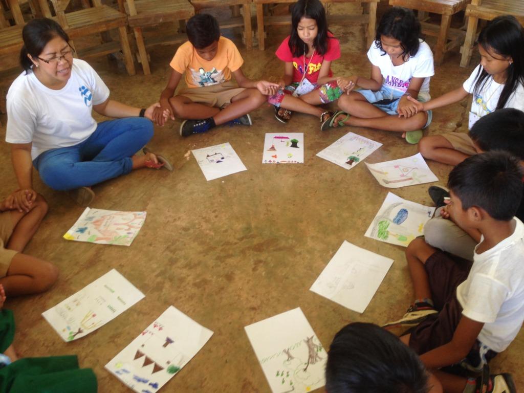PSS Art Activity with Children