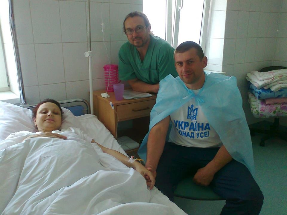 After last operative fetoscopy at 21 of May 2015