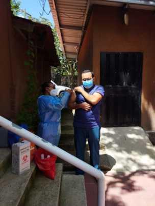 Staff vaccinations