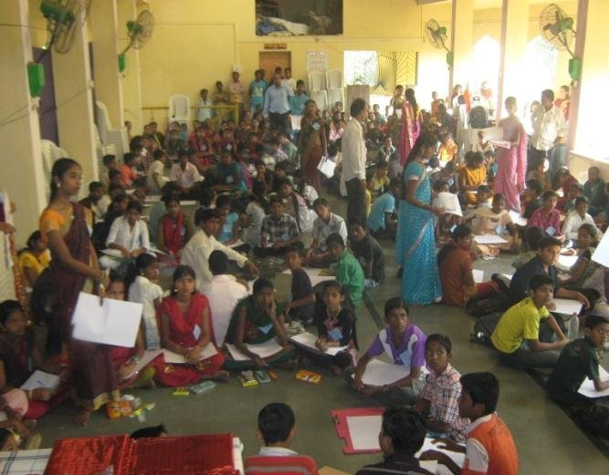 Educate school dropout children in rural India