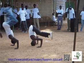 Dance des OEV du centre OASIS
